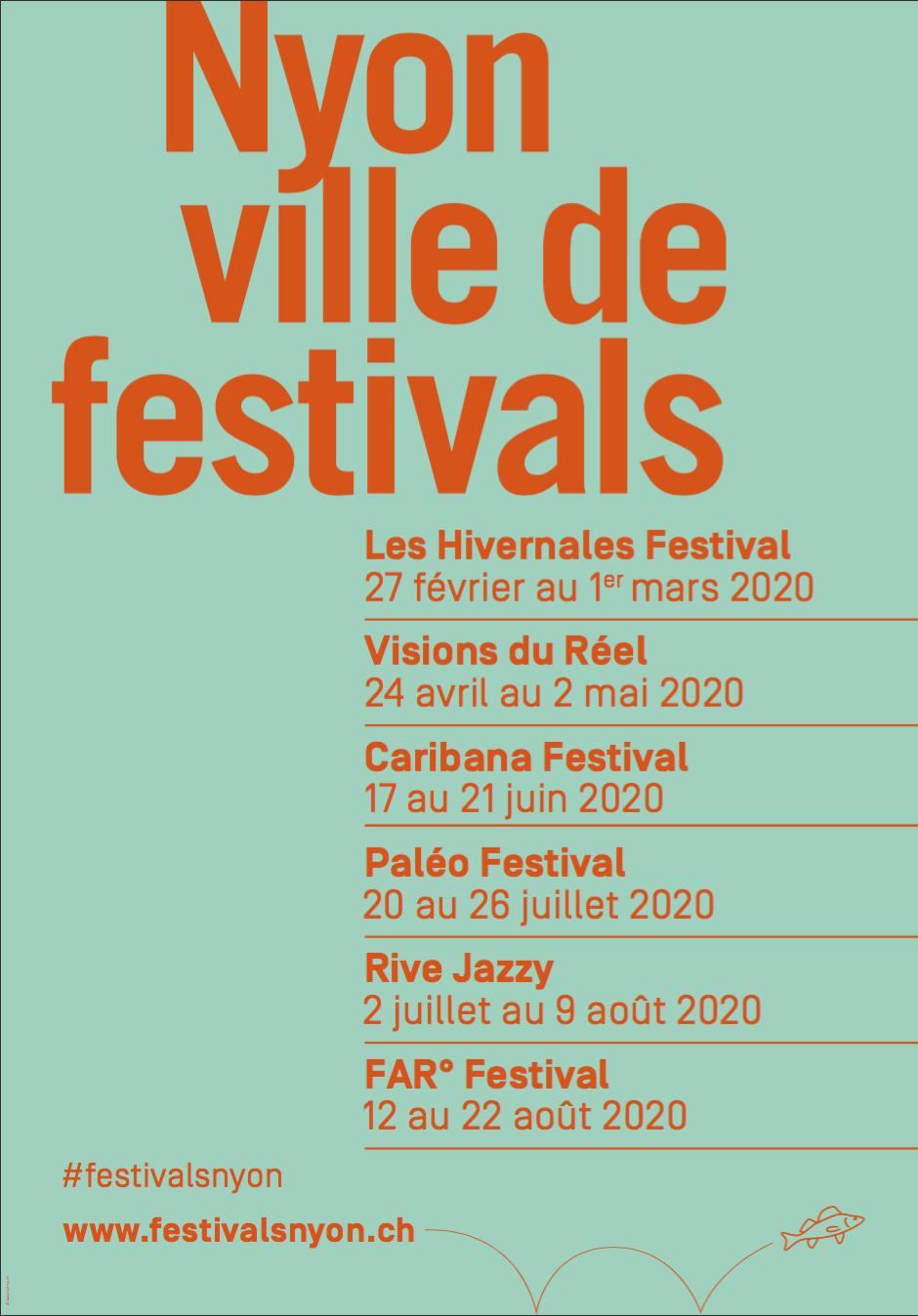 Nyon ville de festivals 2020