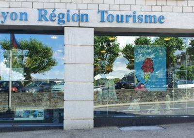 Vitrine Nyon Région Tourisme