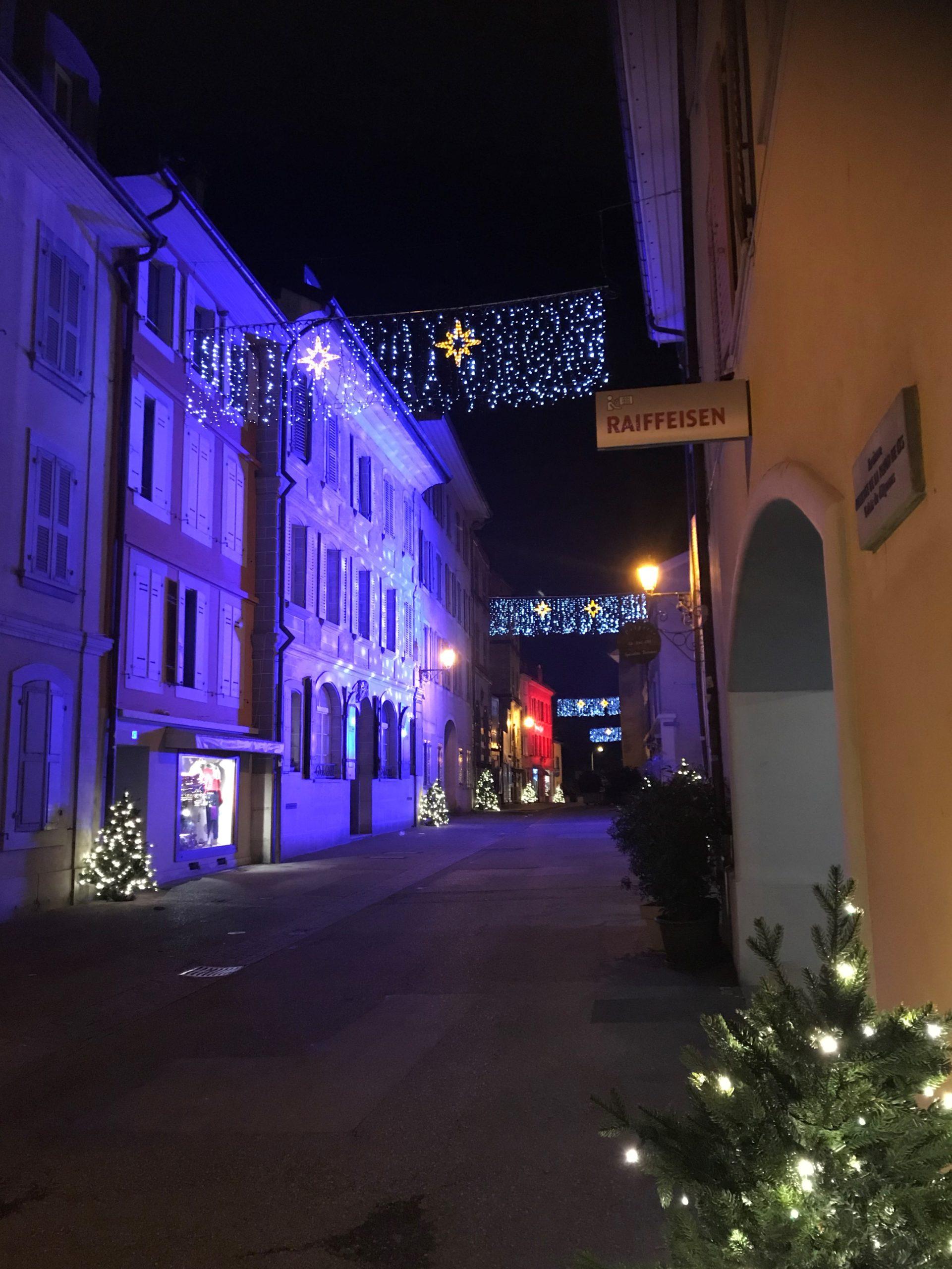Rue de Rive direction Genève